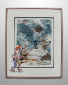 A CLOWN'S REACH SHOULDN'T EXCEED . . . . *SOLD* 0935